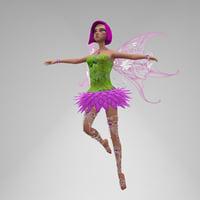 fairy sasha 3D