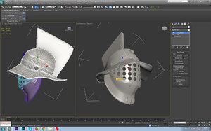helmet gladiator 3D model