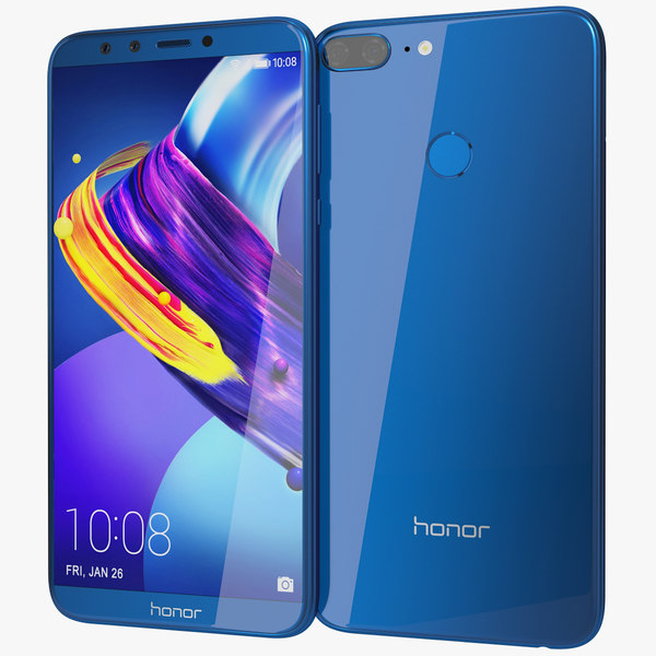 3D realistic honor 9 lite
