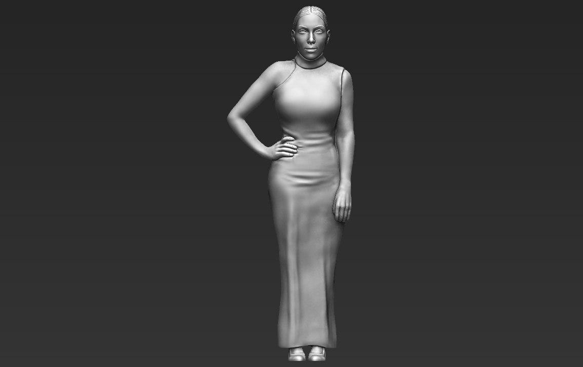 kim kardashian ready printing 3D model