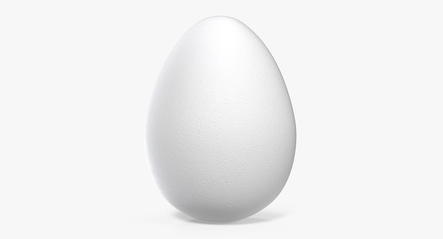 white egg model