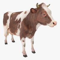 cow fur 3D model