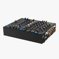 3D digital dj mixer model