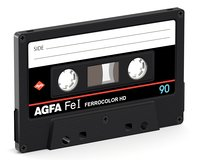 analogic tape 3D model