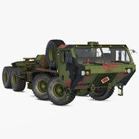 3D military truck oshkosh hemtt model