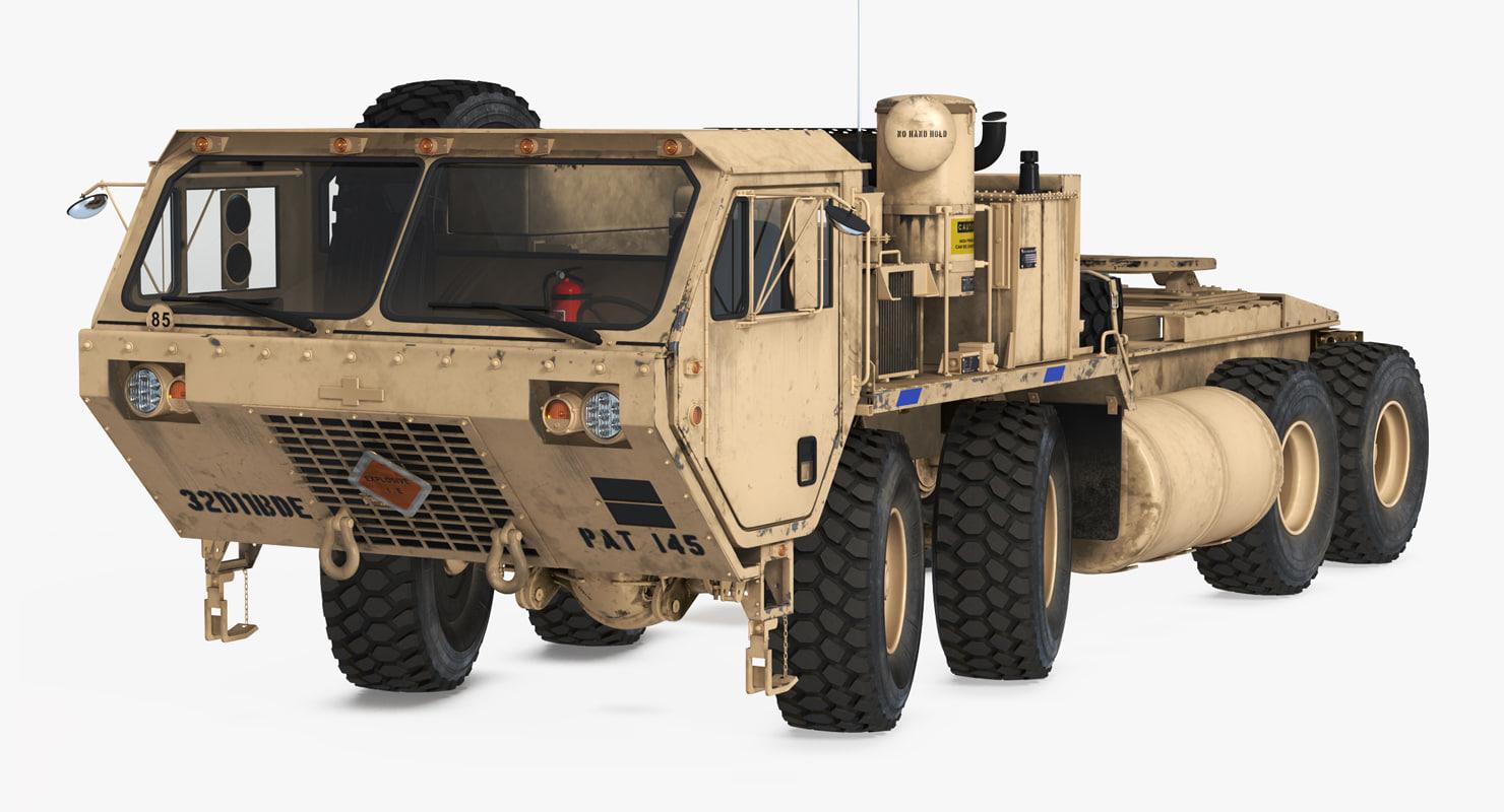 military truck oshkosh hemtt model