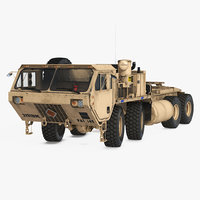 Military Truck Oshkosh HEMTT M985 Sand Rigged