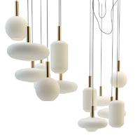 ferm living set lamps 3D