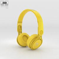 beats pro mixr 3D model