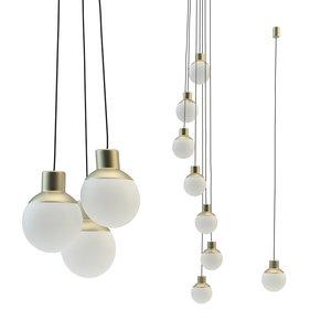 mass light lamp 3D model