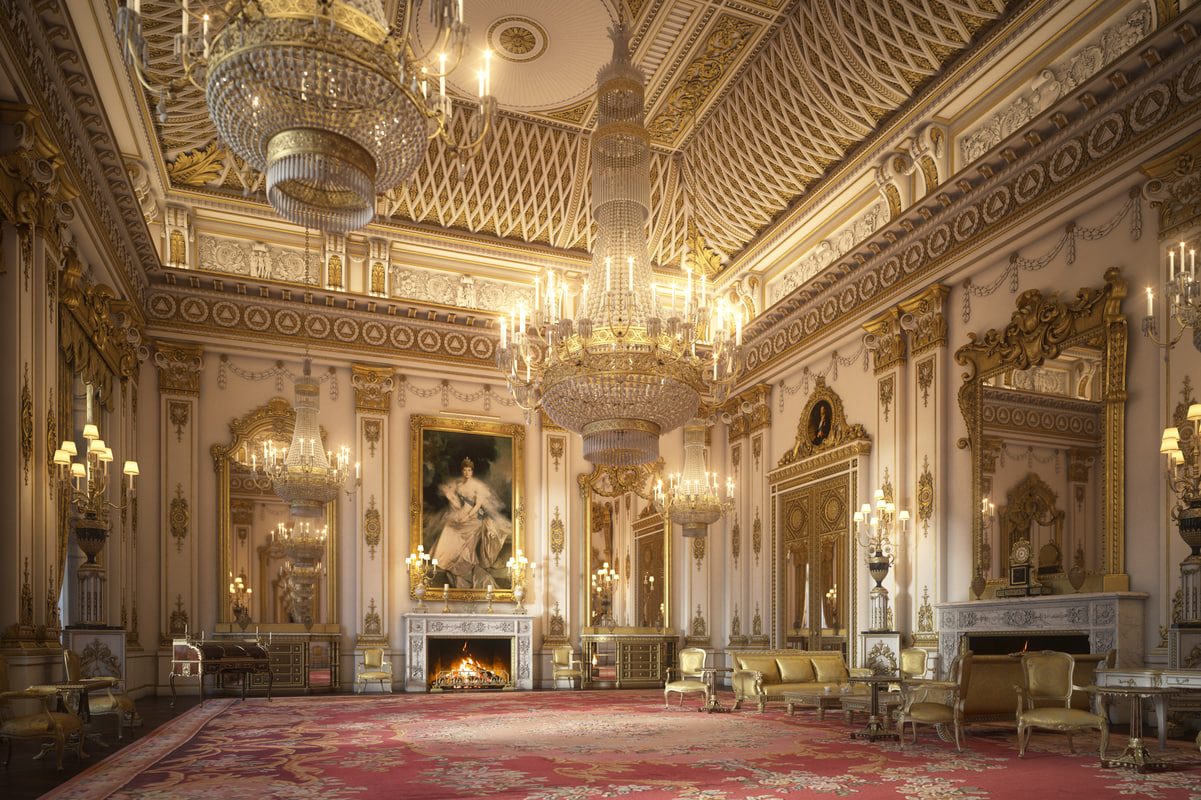... 3D Model Interior Scene White Room ...