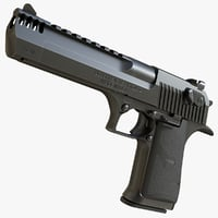 3D desert eagle mark xix model