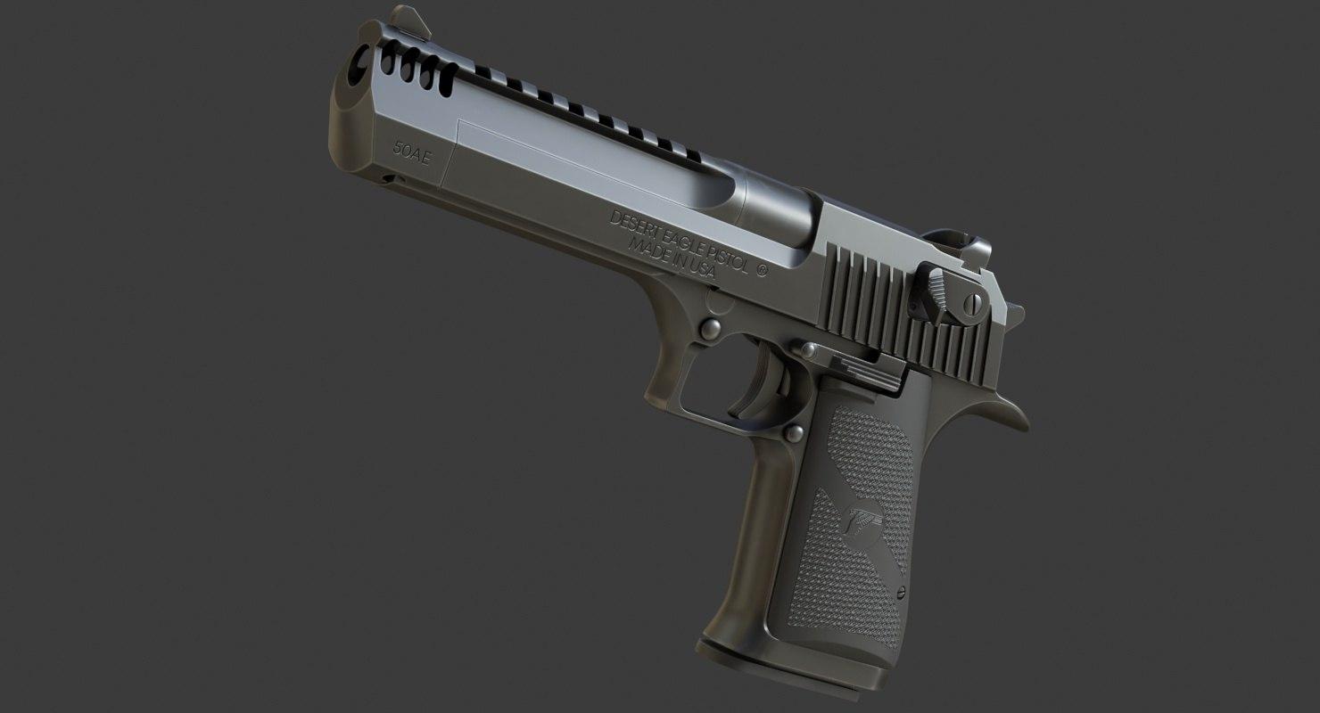 3D desert eagle mark xix model