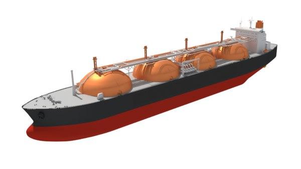 3D lng carrier moss type