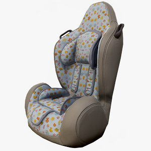 ready baby car seat 3D model