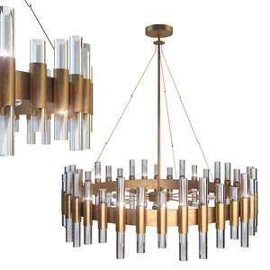 haskell large chandelier 3D model