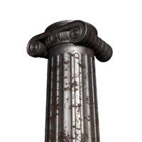 3D metal column model