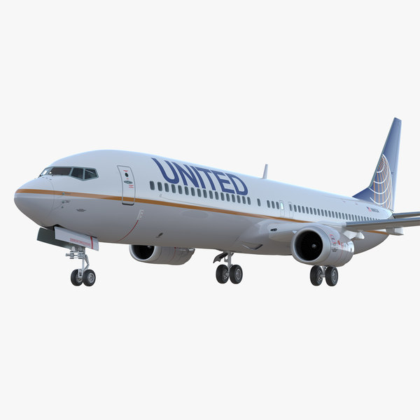 boeing 737-900 er united airlines model