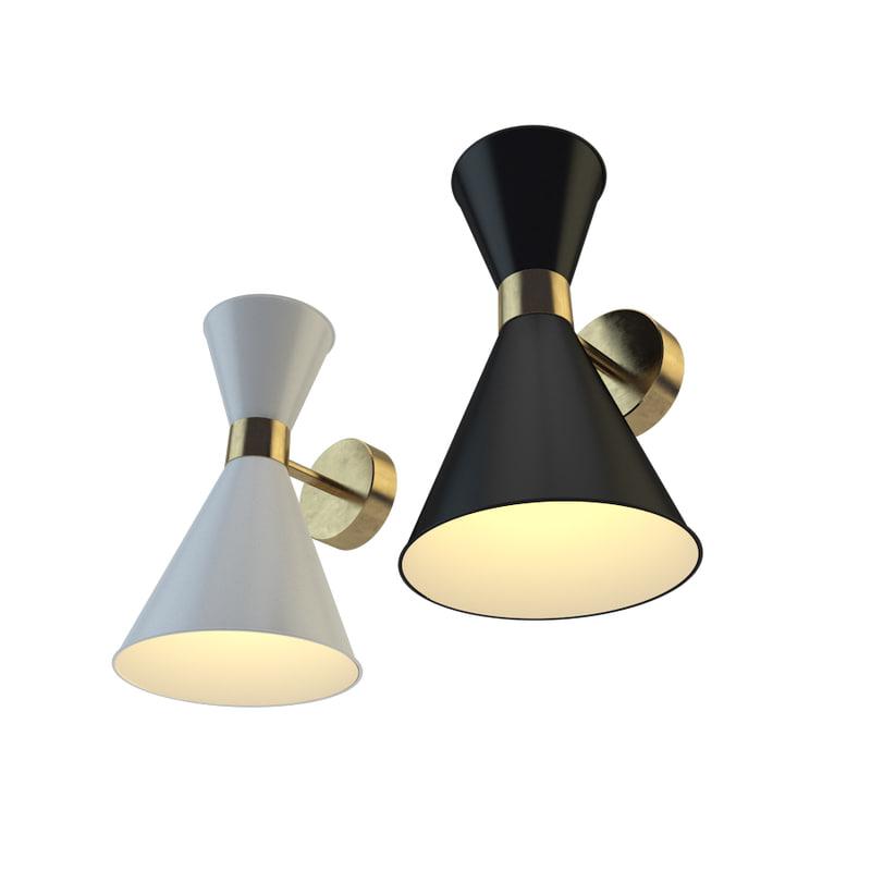 bra delightfull cairo lamps 3D model