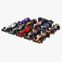 Formula 1 Season 2017 F1 Race Car Collection