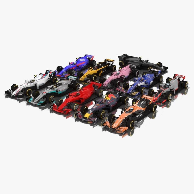 pack formula 1 2017 model