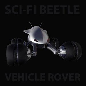 3D sci-fi beetle rover