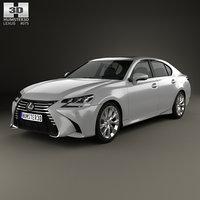 3D lexus gs 350