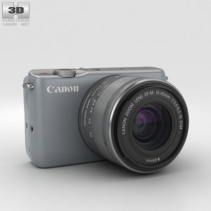 3D model canon eos m10
