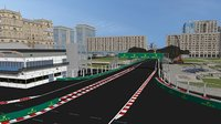 3D baku azerbaijan circuit f1