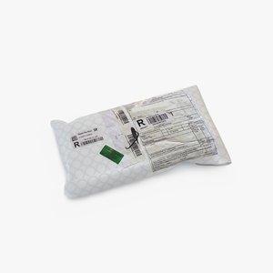 3D parcel 011 model