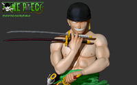 Roronoa Zoro One Piece bust figure