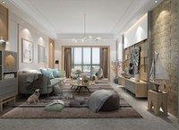 lighting living room 3D model