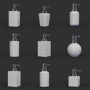 3D clean soap dispenser