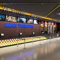 lobby light 3D