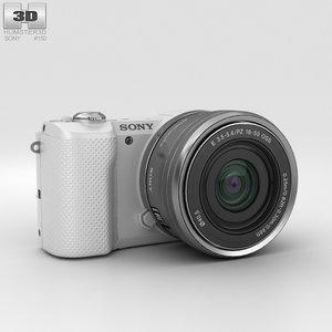 3D sony alpha a5000