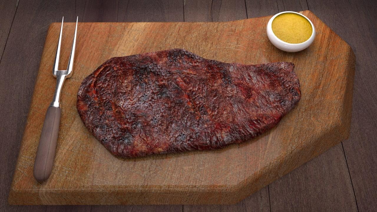 meat concept 3D