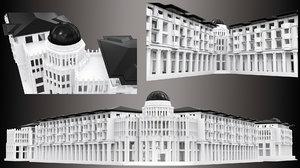 building printing 3D model