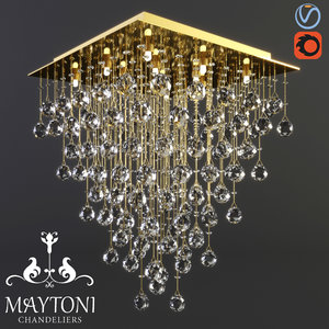 3D model maytoni modern swirl mod217-50-g