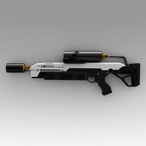 3D boring company flamethrower