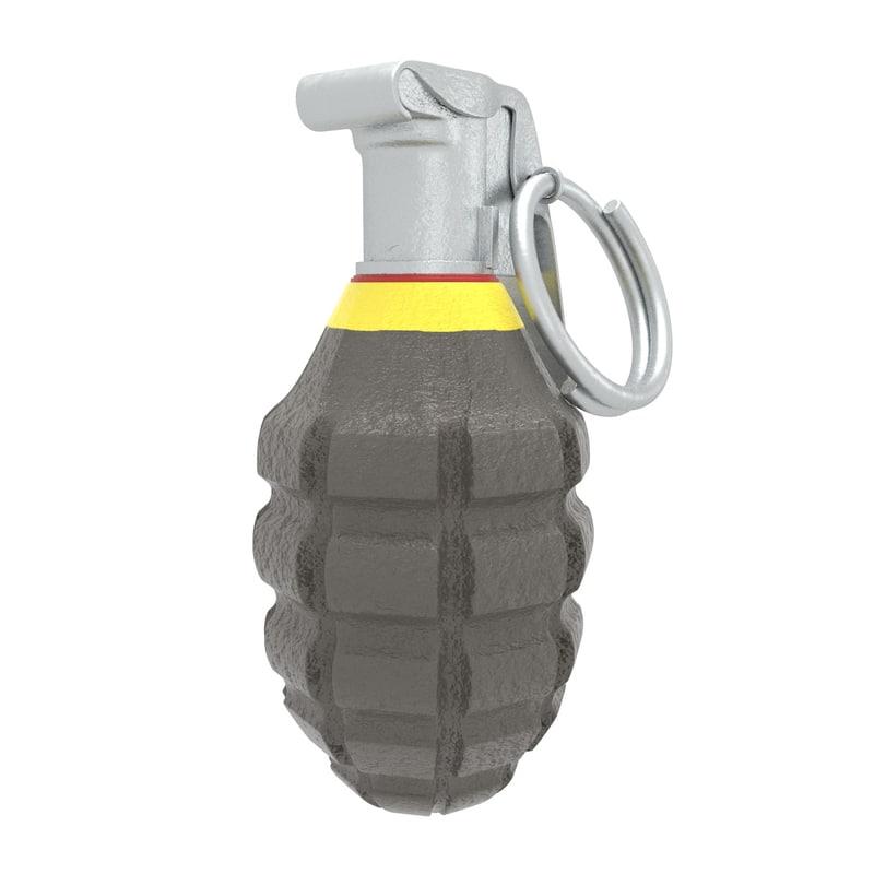 3D hand grenade mk2