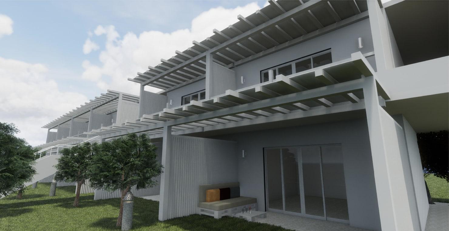 3D model revit building greece