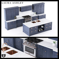 laura ashley helmsley kitchen 3D model
