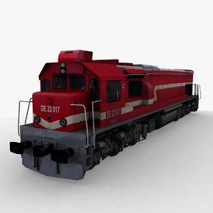 tcdd de22000 3D model
