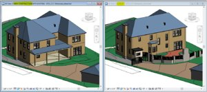 3D revit phases sample project