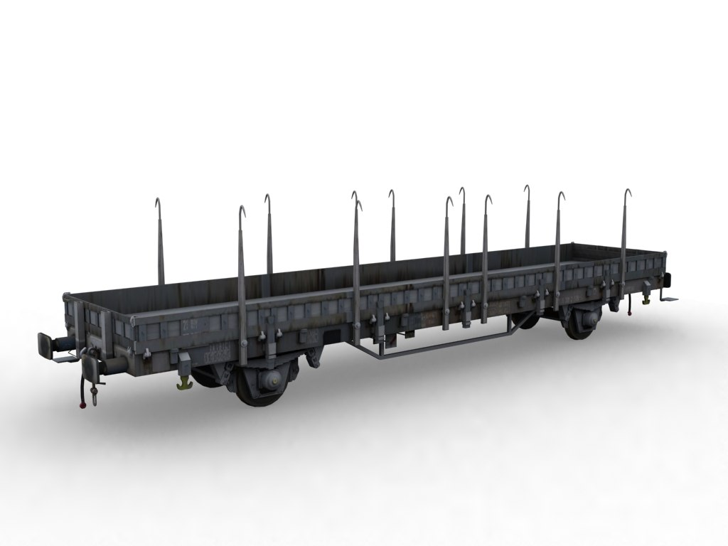 flat wagon ks model