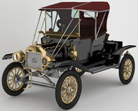 Ford 1912 Model T Automobile