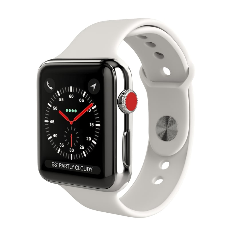 apple watch series 3 3D
