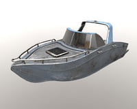 3D model power boat
