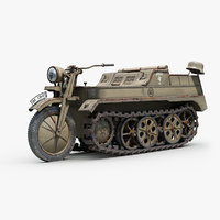 ww2 german sdkfz 2 model