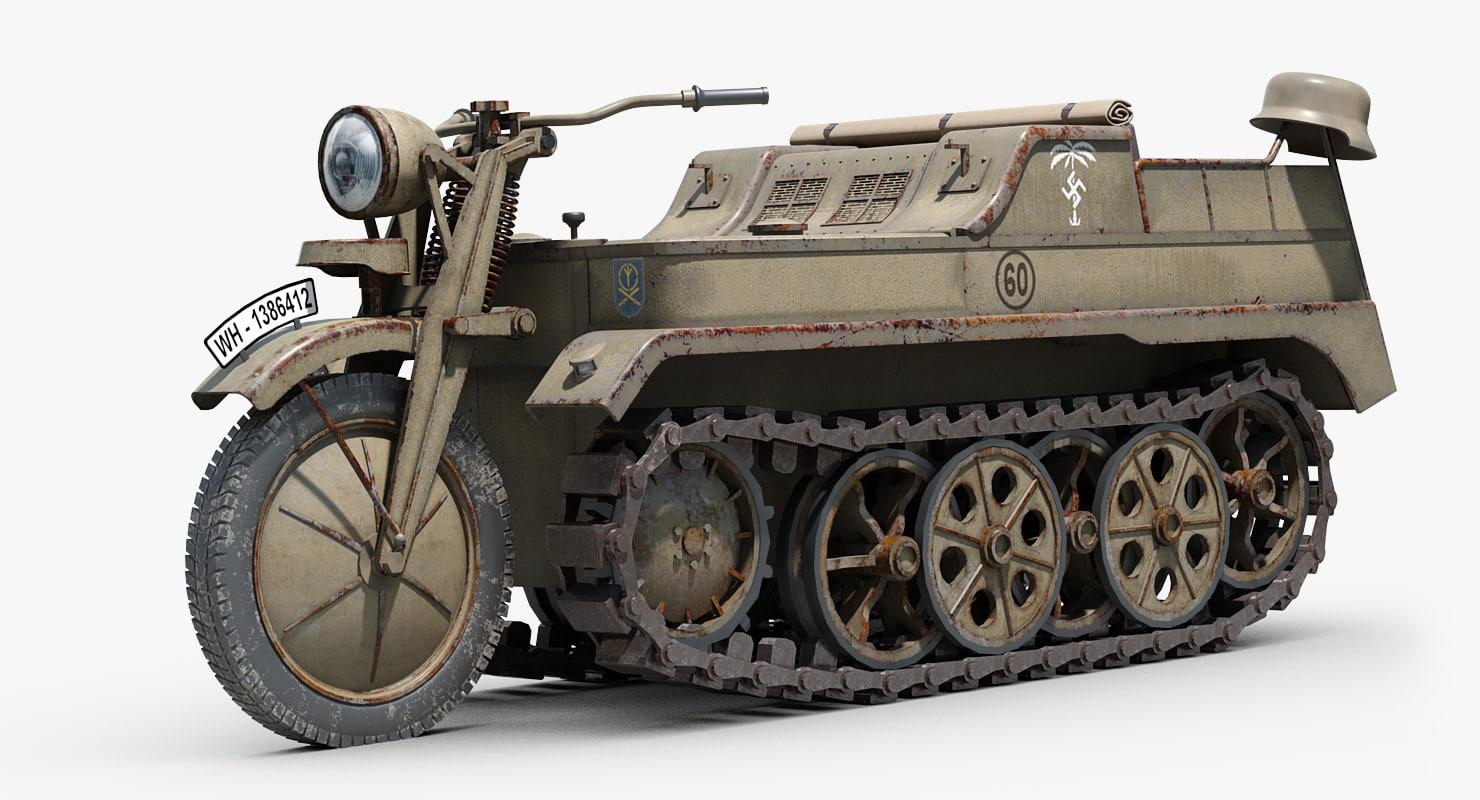 ww2 german sdkfz 2 model